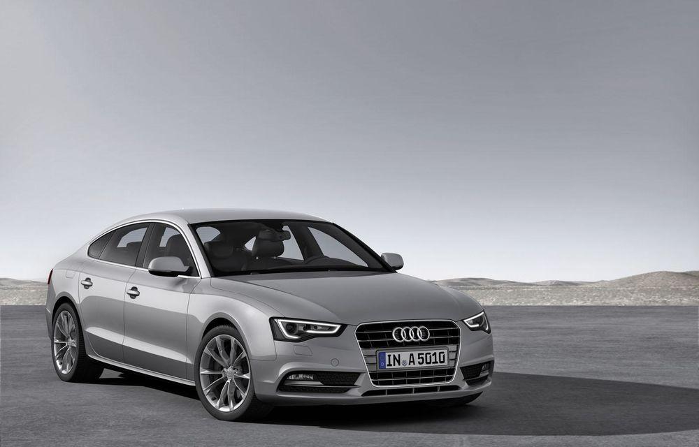 Audi A4, A5 şi A6 primesc versiuni economice Ultra - Poza 2
