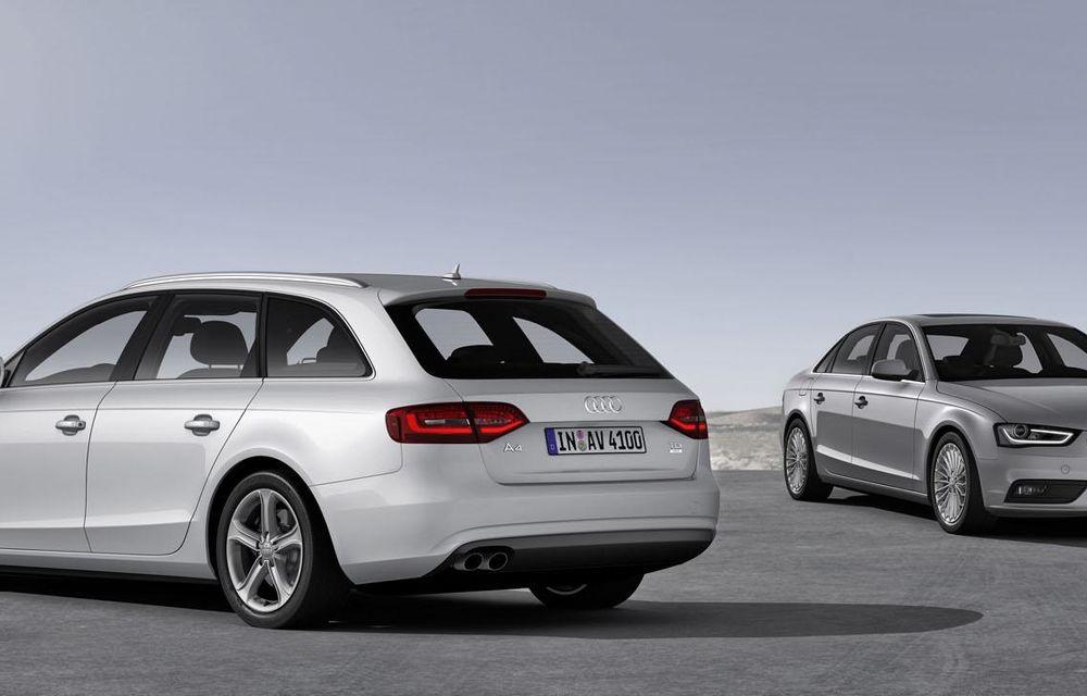 Audi A4, A5 şi A6 primesc versiuni economice Ultra - Poza 6