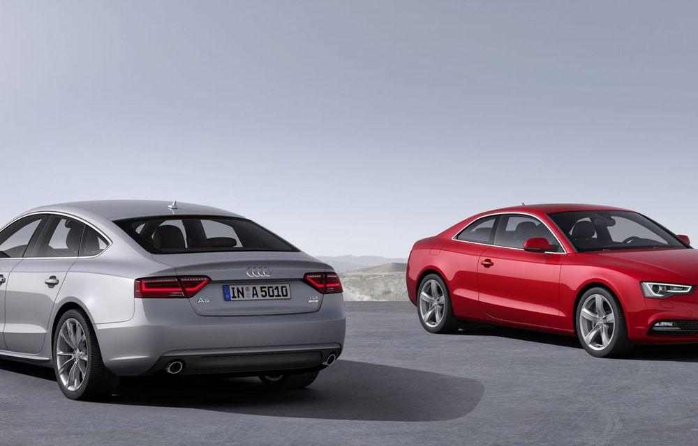 Audi A4, A5 şi A6 primesc versiuni economice Ultra - Poza 22