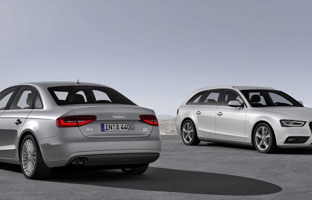 Audi A4, A5 şi A6 primesc versiuni economice Ultra - Poza 13