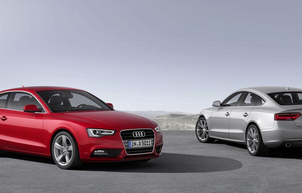 Audi A4, A5 şi A6 primesc versiuni economice Ultra - Poza 11