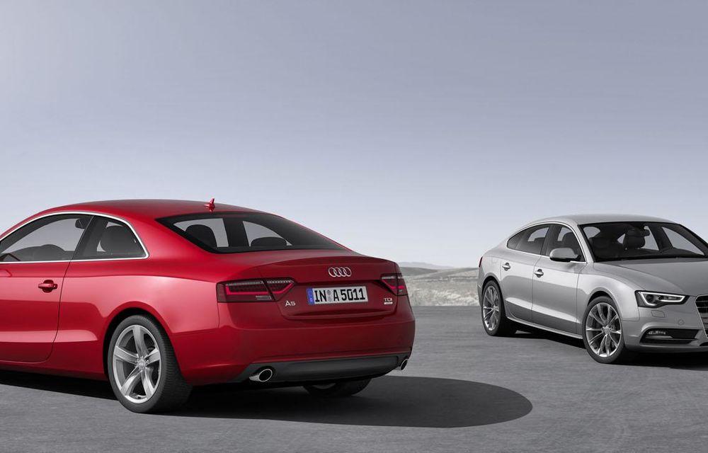 Audi A4, A5 şi A6 primesc versiuni economice Ultra - Poza 26