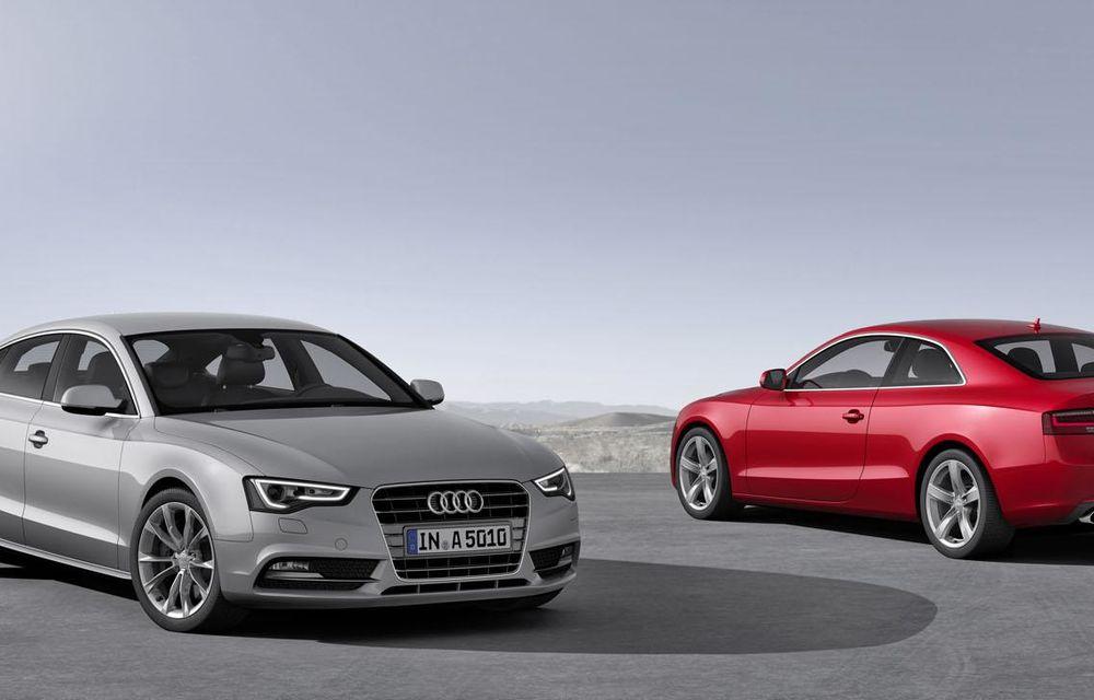 Audi A4, A5 şi A6 primesc versiuni economice Ultra - Poza 19