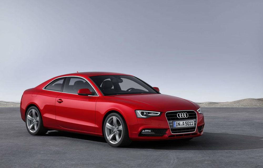 Audi A4, A5 şi A6 primesc versiuni economice Ultra - Poza 1