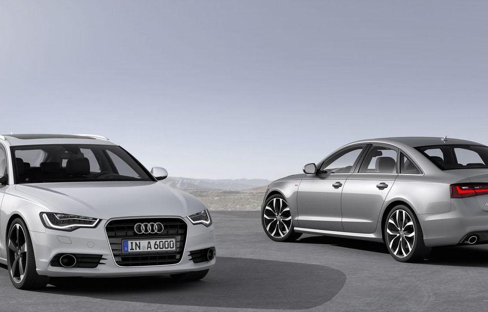 Audi A4, A5 şi A6 primesc versiuni economice Ultra - Poza 7