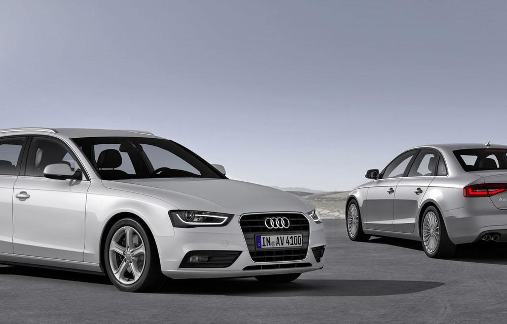 Audi A4, A5 şi A6 primesc versiuni economice Ultra - Poza 17
