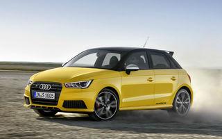 Audi S1 şi S1 Sportback: 231 CP pentru cele mai puternice modele din segmentul B