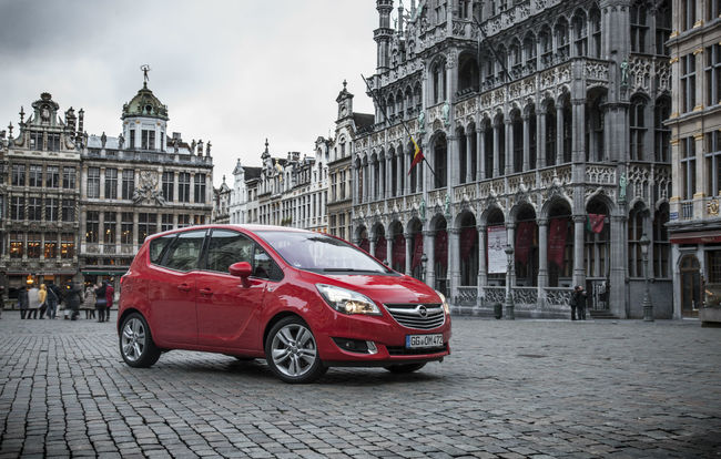 Test drive Opel Meriva facelift (2014)