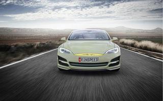 Rinspeed XchangE, un nou concept al elveţienilor, prezintă potenţialul maxim al lui Tesla Model S