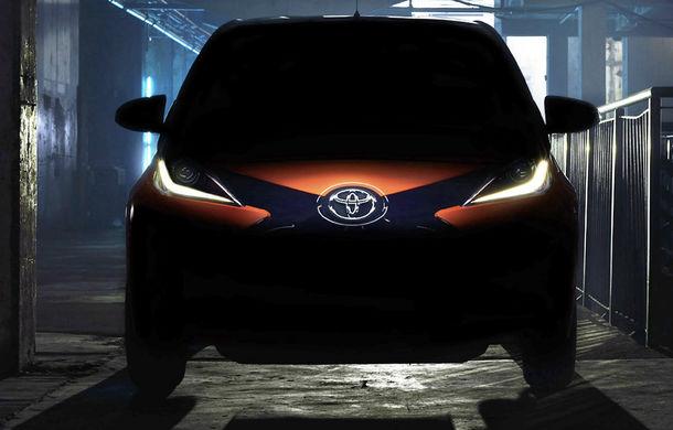 Toyota Aygo - prima imagine teaser - Poza 1