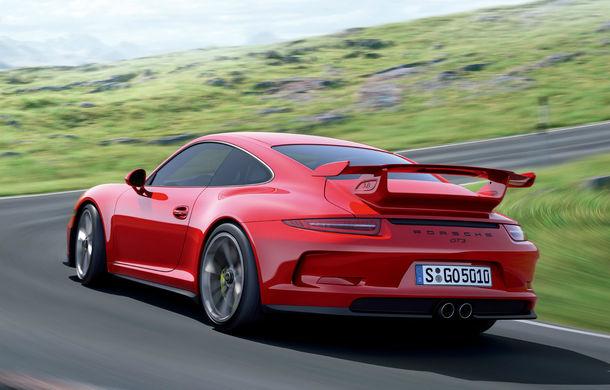 Porsche opreşte temporar livrările pentru modelul 911 GT3 - Poza 1