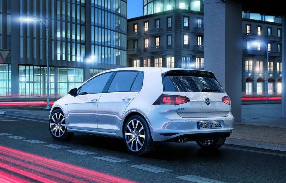 Volkswagen Golf GTE, fratele plug-in hybrid al lui GTI, se prezintă - Poza 8