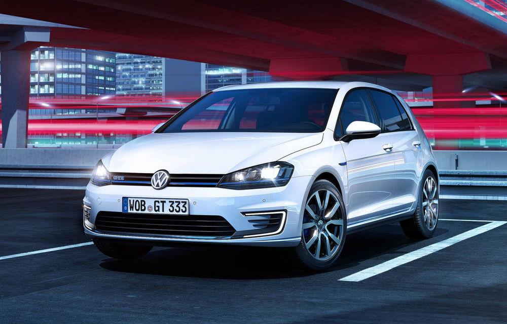 Volkswagen Golf GTE, fratele plug-in hybrid al lui GTI, se prezintă - Poza 2