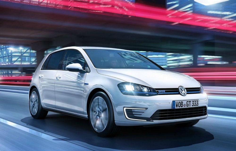 Volkswagen Golf GTE, fratele plug-in hybrid al lui GTI, se prezintă - Poza 1