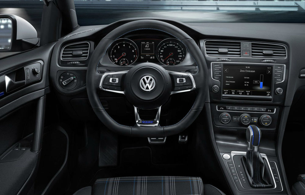 Volkswagen Golf GTE, fratele plug-in hybrid al lui GTI, se prezintă - Poza 10