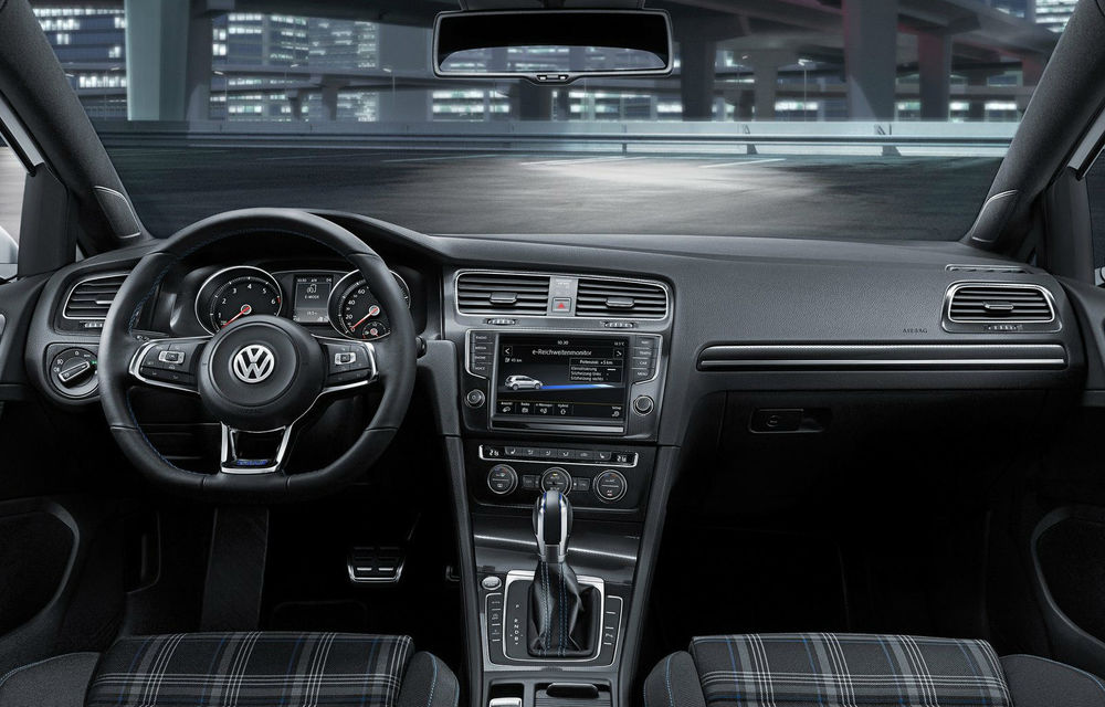 Volkswagen Golf GTE, fratele plug-in hybrid al lui GTI, se prezintă - Poza 9