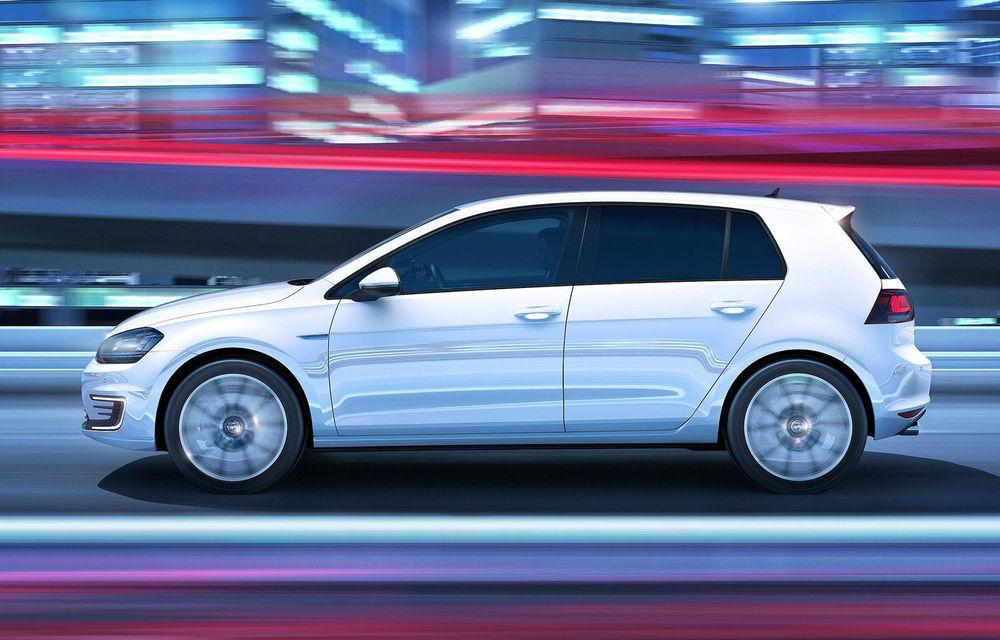 Volkswagen Golf GTE, fratele plug-in hybrid al lui GTI, se prezintă - Poza 6