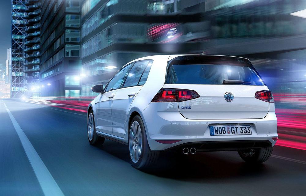 Volkswagen Golf GTE, fratele plug-in hybrid al lui GTI, se prezintă - Poza 5