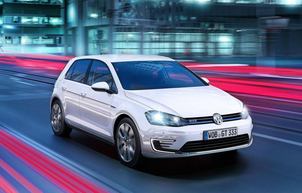 Volkswagen Golf GTE, fratele plug-in hybrid al lui GTI, se prezintă - Poza 3
