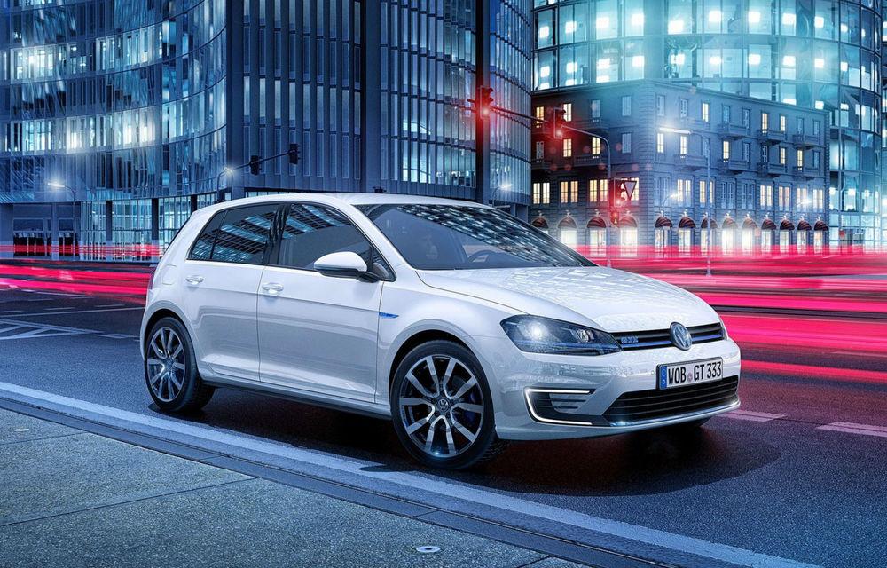 Volkswagen Golf GTE, fratele plug-in hybrid al lui GTI, se prezintă - Poza 4