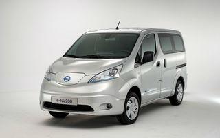 Nissan e-NV200: vehiculul comercial al japonezilor a primit o versiune electrică