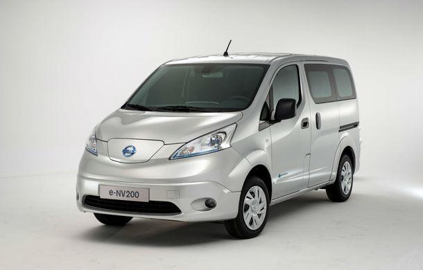 Nissan e-NV200: vehiculul comercial al japonezilor a primit o versiune electrică - Poza 1