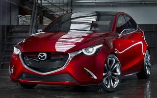Mazda Hazumi  - imagini oficiale ale conceptului care prefigurează viitorul Mazda2