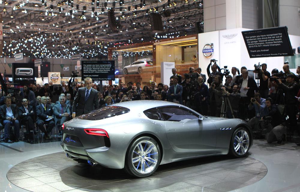 Corespondenţă de la Geneva 2014: Maserati Alfieri, surpriza exotică de la standul Tridentului - Poza 2
