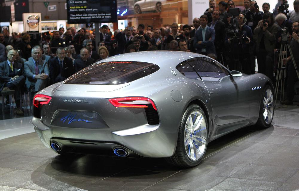 Corespondenţă de la Geneva 2014: Maserati Alfieri, surpriza exotică de la standul Tridentului - Poza 3