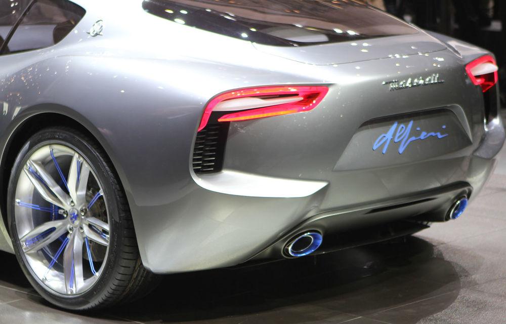Corespondenţă de la Geneva 2014: Maserati Alfieri, surpriza exotică de la standul Tridentului - Poza 7