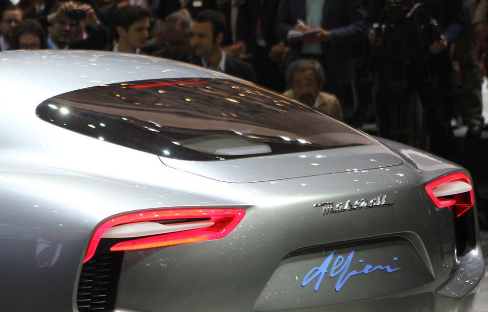 Corespondenţă de la Geneva 2014: Maserati Alfieri, surpriza exotică de la standul Tridentului - Poza 10