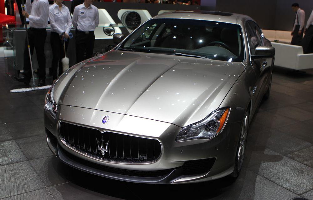 Corespondenţă de la Geneva 2014: Maserati Alfieri, surpriza exotică de la standul Tridentului - Poza 12
