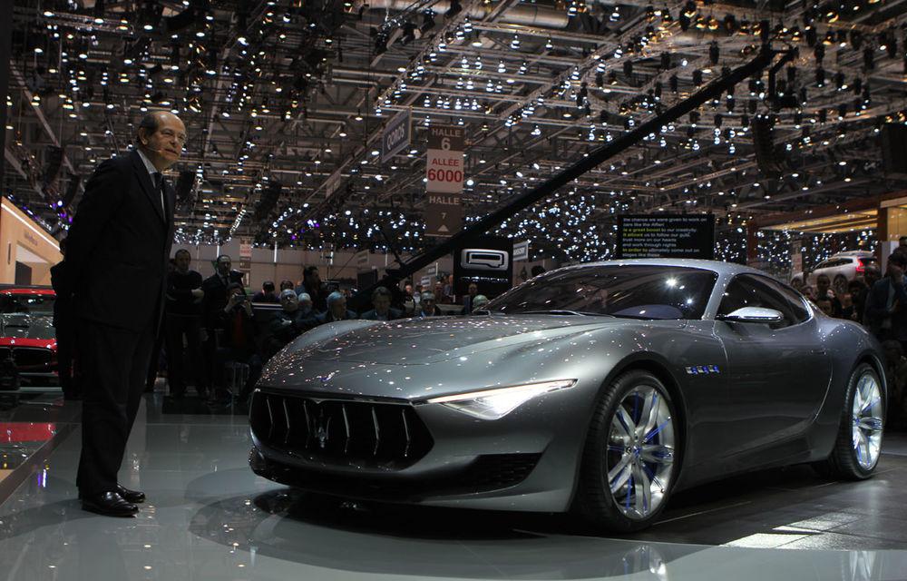 Corespondenţă de la Geneva 2014: Maserati Alfieri, surpriza exotică de la standul Tridentului - Poza 9