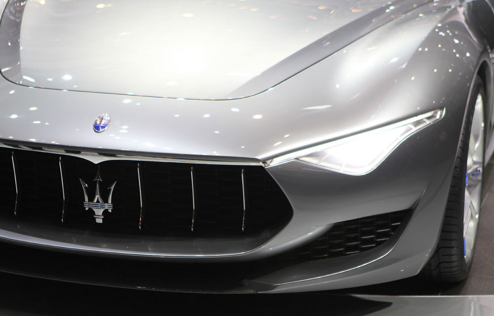 Corespondenţă de la Geneva 2014: Maserati Alfieri, surpriza exotică de la standul Tridentului - Poza 6