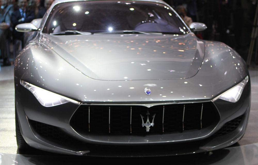 Corespondenţă de la Geneva 2014: Maserati Alfieri, surpriza exotică de la standul Tridentului - Poza 5