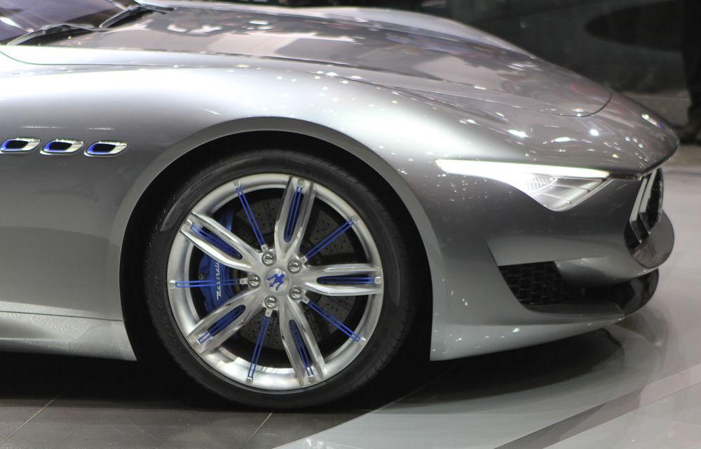 Corespondenţă de la Geneva 2014: Maserati Alfieri, surpriza exotică de la standul Tridentului - Poza 11