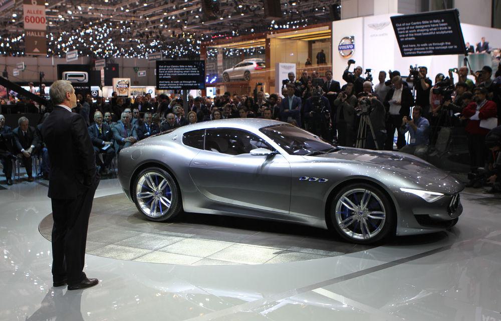 Corespondenţă de la Geneva 2014: Maserati Alfieri, surpriza exotică de la standul Tridentului - Poza 4