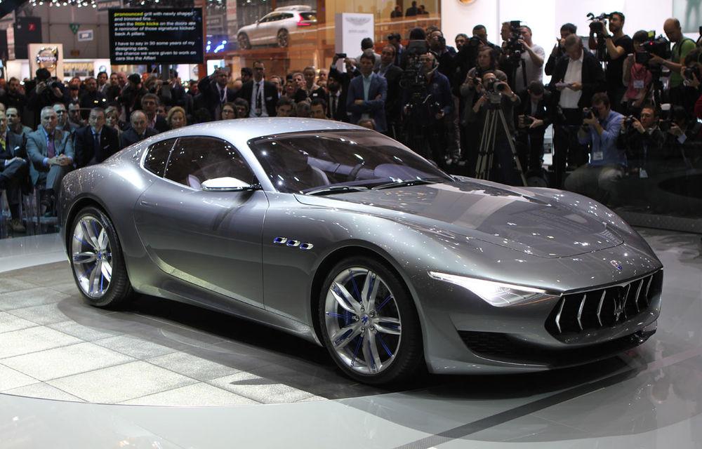 Corespondenţă de la Geneva 2014: Maserati Alfieri, surpriza exotică de la standul Tridentului - Poza 1