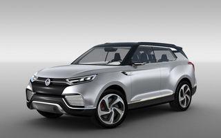 Ssangyong XLV Concept ne arată direcţia de design pentru marca coreeană