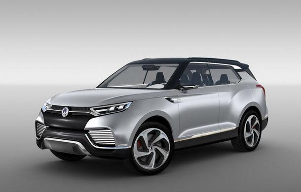Ssangyong XLV Concept ne arată direcţia de design pentru marca coreeană - Poza 1