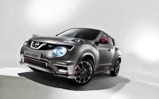 Nissan Juke Nismo RS: crossoverul de clasă mică se mândreşte cu 218 CP