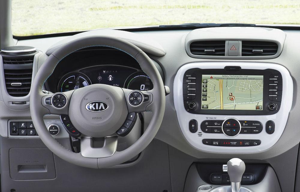 Kia Soul EV: prima electrică de serie a mărcii are 7 ani garanţie şi 200 km autonomie - Poza 25
