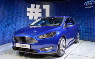 GENEVA 2014 LIVE: Ford Focus facelift a fost reperul standului mărcii americane