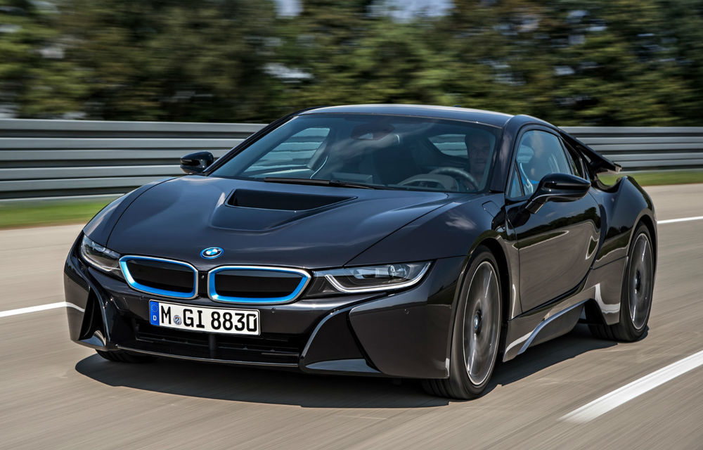 BMW i8 - datele tehnice complete ale versiunii de serie - Poza 1