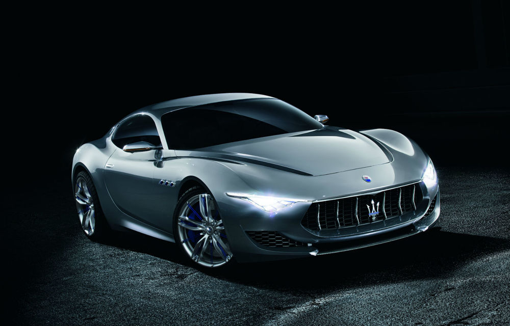 Maserati Alfieri anunţă un coupe mai mic decât actualul GranTurismo - Poza 1