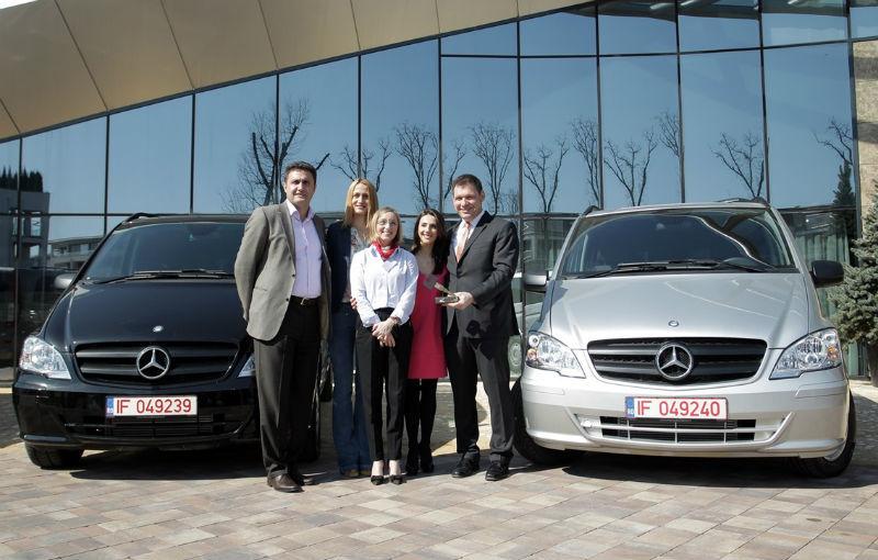 Mercedes oferă câte un Vito pentru Federaţia Olimpică Română şi pentru Federaţiile de Tenis şi Nataţie - Poza 2
