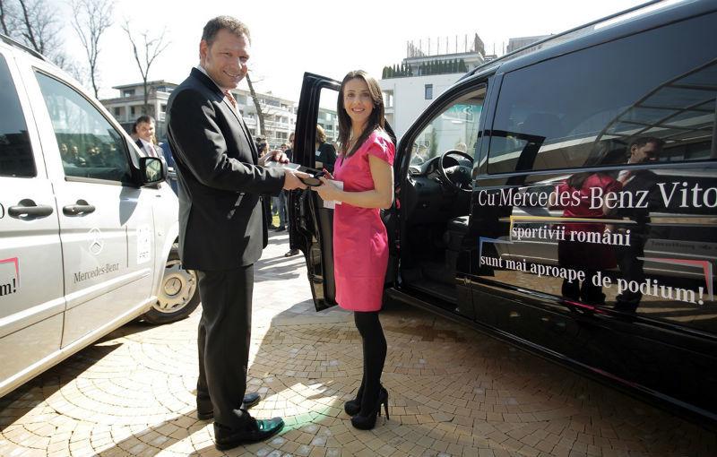 Mercedes oferă câte un Vito pentru Federaţia Olimpică Română şi pentru Federaţiile de Tenis şi Nataţie - Poza 3