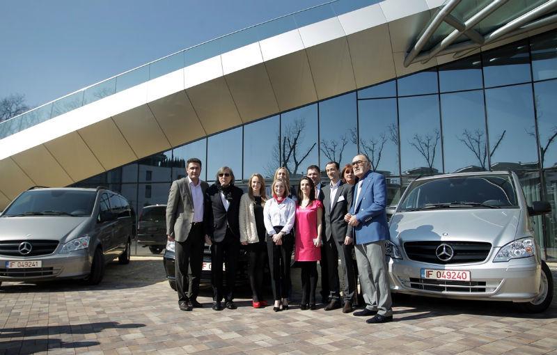 Mercedes oferă câte un Vito pentru Federaţia Olimpică Română şi pentru Federaţiile de Tenis şi Nataţie - Poza 7