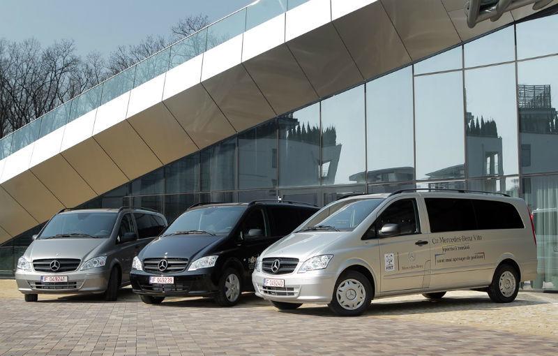 Mercedes oferă câte un Vito pentru Federaţia Olimpică Română şi pentru Federaţiile de Tenis şi Nataţie - Poza 11