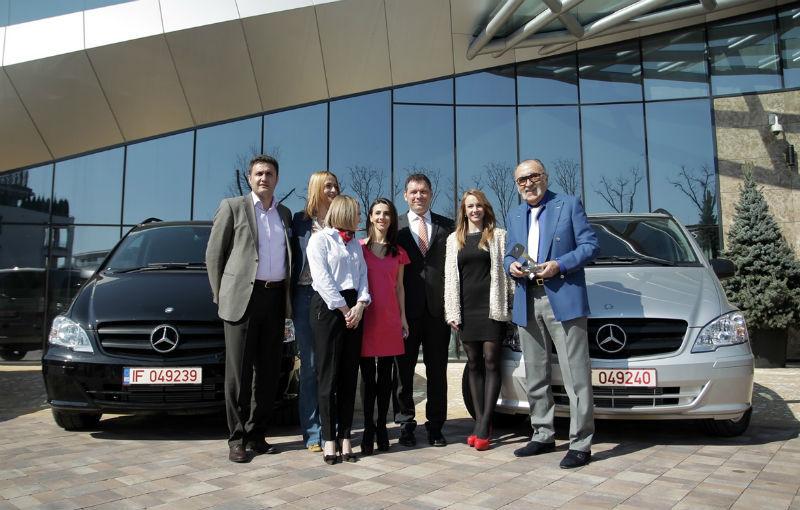 Mercedes oferă câte un Vito pentru Federaţia Olimpică Română şi pentru Federaţiile de Tenis şi Nataţie - Poza 1